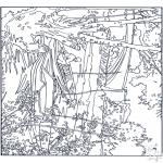 Allerlei Kleurplaten - Schilder Van Gogh 1