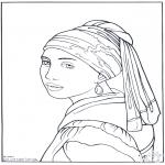 Allerlei Kleurplaten - Schilder Vermeer