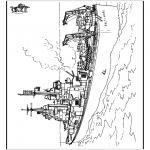 Allerlei Kleurplaten - Schip 2