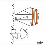 Allerlei Kleurplaten - Schip 3