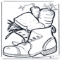Schoen met lekkers