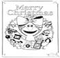 Sesamstraat vrolijk kerstfeest