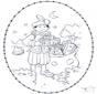 Sint borduurkaart 2