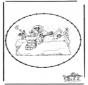 Sint borduurkaart 7