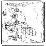 Knutselen Prikkaarten - Sinterklaas 10