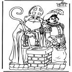 Knutselen Prikkaarten - Sinterklaas 11