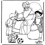Knutselen Prikkaarten - Sinterklaas 14