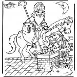 Knutselen Prikkaarten - Sinterklaas 15