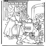 Knutselen Prikkaarten - Sinterklaas 18