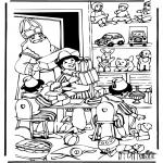 Knutselen Prikkaarten - Sinterklaas 20