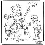 Knutselen Prikkaarten - Sinterklaas 27
