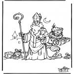 Knutselen Prikkaarten - Sinterklaas 28