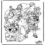 Knutselen Prikkaarten - Sinterklaas 29