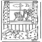 Knutselen Prikkaarten - Sinterklaas 30