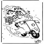 Knutselen Prikkaarten - Sinterklaas 32
