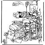 Knutselen Prikkaarten - Sinterklaas 34