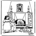 Knutselen Prikkaarten - Sinterklaas 39