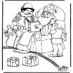 Knutselen Prikkaarten - Sinterklaas 43