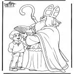 Knutselen Prikkaarten - Sinterklaas 48