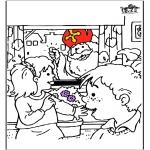 Knutselen Prikkaarten - Sinterklaas 56