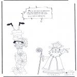 Knutselen Prikkaarten - Sinterklaas Gedicht 3