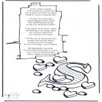 Knutselen Prikkaarten - Sinterklaas Gedicht 8