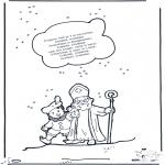 Knutselen Prikkaarten - Sinterklaas liedje 11