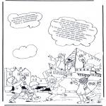 Knutselen Prikkaarten - Sinterklaas liedje 15