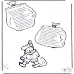 Knutselen Prikkaarten - Sinterklaas liedje 8