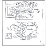Stripfiguren Kleurplaten - Sneeuwwitje 14