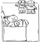 Kinderkleurplaten - Speelgoed kleurplaat 2