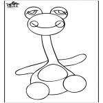 Kinderkleurplaten - Speelgoed kleurplaat 3