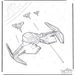 Allerlei Kleurplaten - Star Wars 11