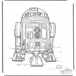 Allerlei Kleurplaten - Star Wars 3