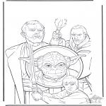 Allerlei Kleurplaten - Star Wars 5