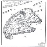 Allerlei Kleurplaten - Star Wars 8