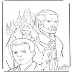 Allerlei Kleurplaten - Star Wars 9