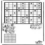 Knutselen - Sudoku Cars