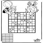 Knutselen - Sudoku Dalmatiers