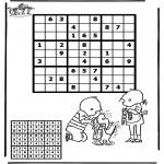 Knutselen - Sudoku Jip en Janneke