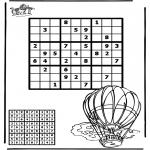 Knutselen - Sudoku Luchtballon
