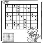 Knutselen - Sudoku Meisje