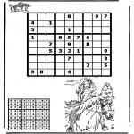 Knutselen - Sudoku Paardrijden