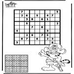 Knutselen - Sudoku Piraat