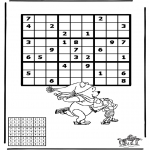Knutselen - Sudoku Schaatsen