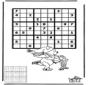 Sudoku Schaatsen