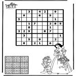 Knutselen - Sudoku Sneeuwwitje