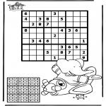 Knutselen - Sudoku Vliegtuig