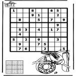 Knutselen - Sudoku Vogel