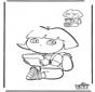 Teken af Dora